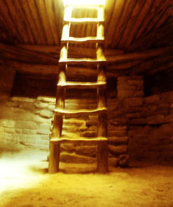 Ladder to Light - photograph by Gail Russell