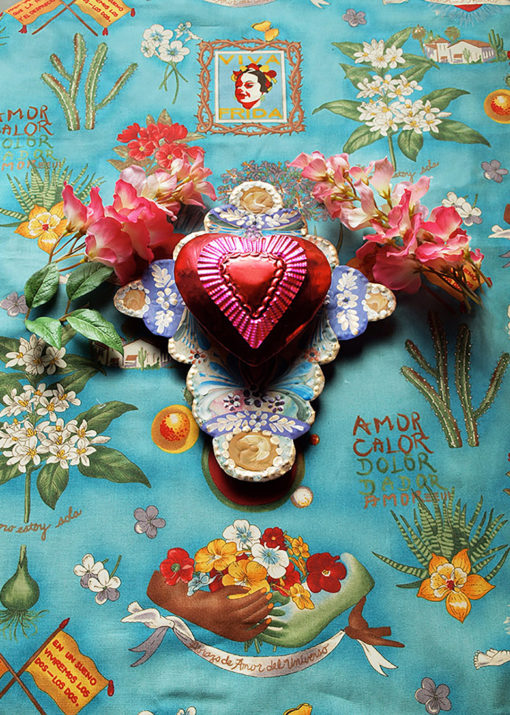 Frida's Valentine - photograph by Gail Russell