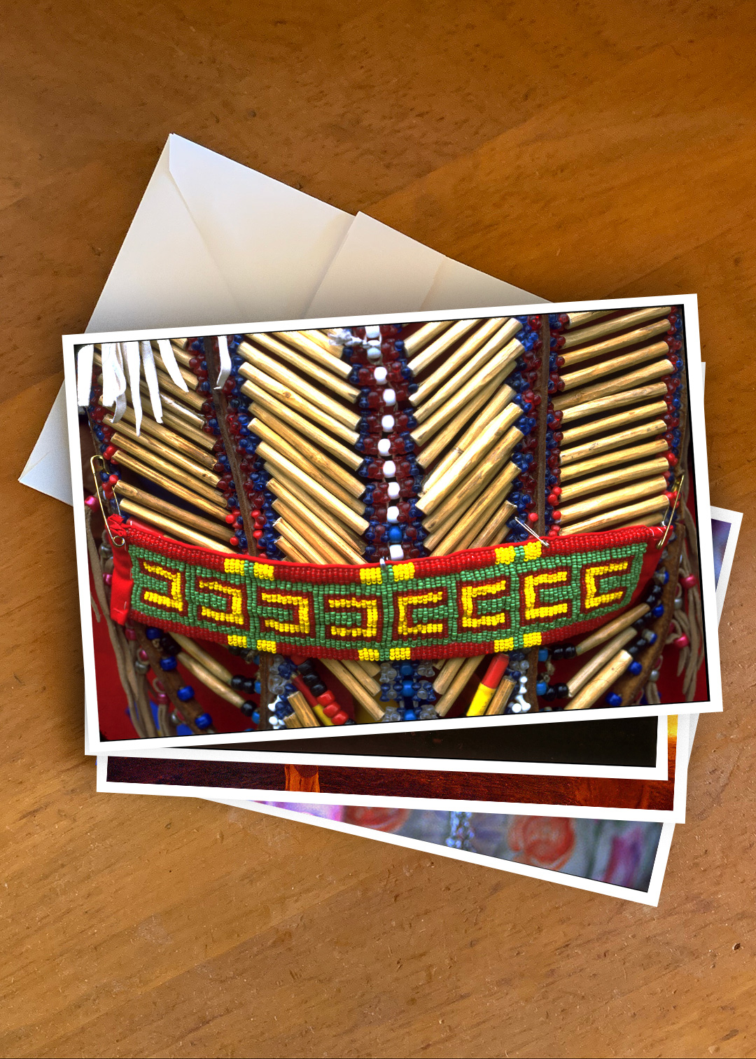 Tribal Heart Gift Card Set - photograph by Janaki Rathod